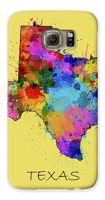 Central Texas Digital Art Galaxy S6 Cases
