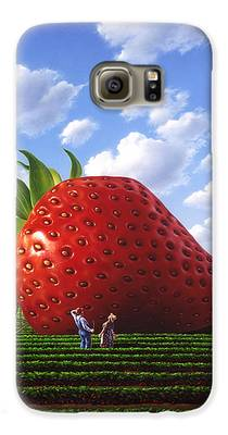 Strawberry Galaxy S6 Cases