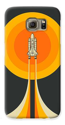 Space Ship Galaxy S6 Cases