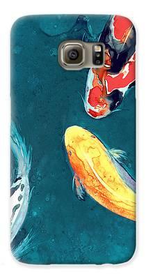 Koi Galaxy S6 Cases