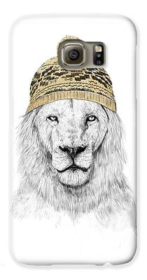 Lion Galaxy S6 Cases