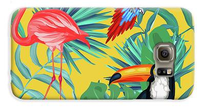 Flamingo Galaxy S6 Cases