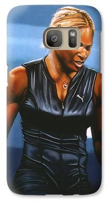 Serena Williams Galaxy S7 Cases