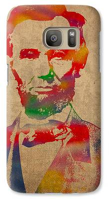 Abraham Lincoln Galaxy S7 Cases
