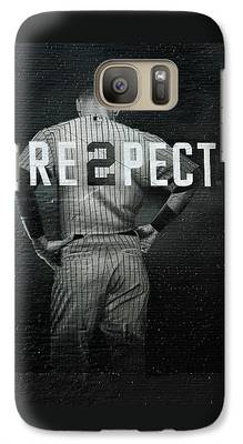 Baseball Player Galaxy S7 Cases