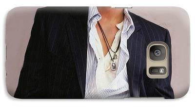 Johnny Depp Galaxy S7 Cases