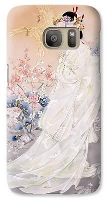Peach Galaxy S7 Cases
