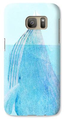 Whale Galaxy S7 Cases