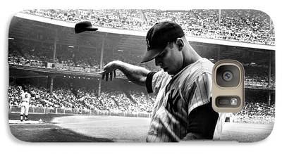 Mickey Mantle Galaxy Cases