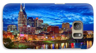 Nashville Skyline Galaxy S7 Cases