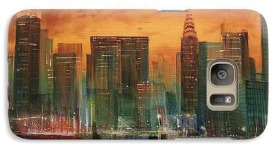 City Scene Galaxy S7 Cases