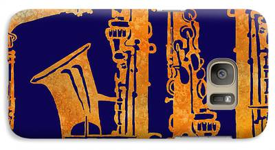 Saxophone Galaxy S7 Cases