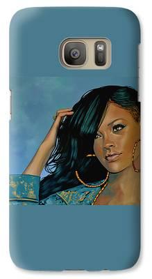 Rihanna Galaxy S7 Cases