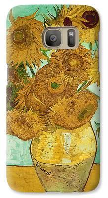 Sunflower Galaxy S7 Cases