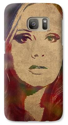 Adele Galaxy S7 Cases