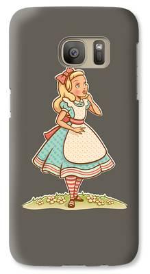 Elizabeth Taylor Galaxy S7 Cases