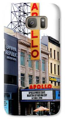 Apollo Theater Galaxy S7 Cases