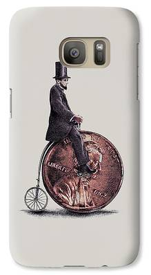Abraham Lincoln Galaxy Cases