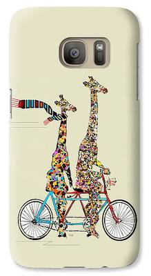 Giraffe Galaxy Cases