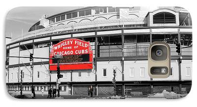 Wrigley Field Galaxy S7 Cases