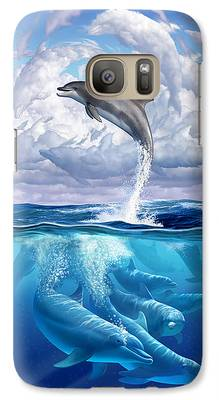 Dolphin Galaxy S7 Cases