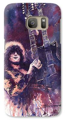 Jimmy Page Galaxy S7 Cases