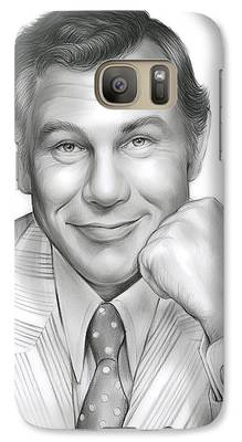 Johnny Carson Galaxy S7 Cases