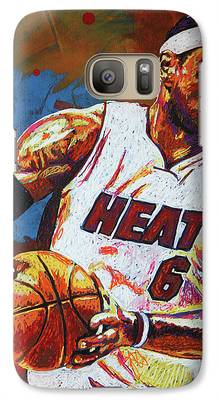 Lebron James Galaxy S7 Cases