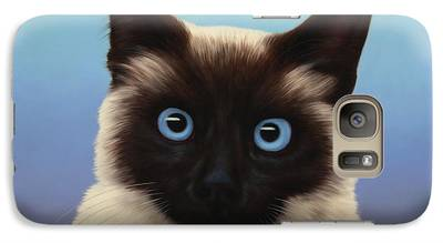 Cat Galaxy S7 Cases