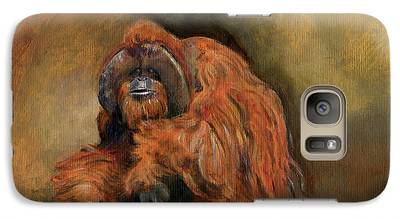Orangutan Galaxy S7 Cases