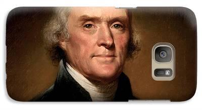 Thomas Jefferson Galaxy S7 Cases