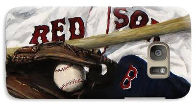 Baseball Gloves Galaxy S7 Cases