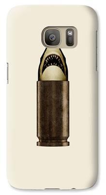 Hammerhead Shark Galaxy S7 Cases