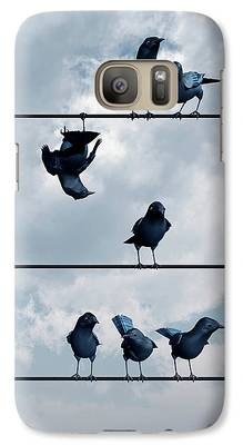 Crow Galaxy S7 Cases