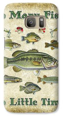 Smallmouth Bass Galaxy S7 Cases
