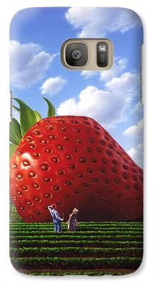 Strawberry Galaxy S7 Cases