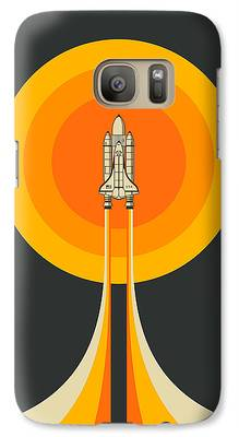 Space Ship Galaxy S7 Cases