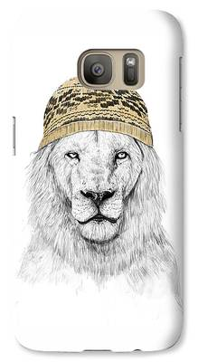 Lion Galaxy S7 Cases