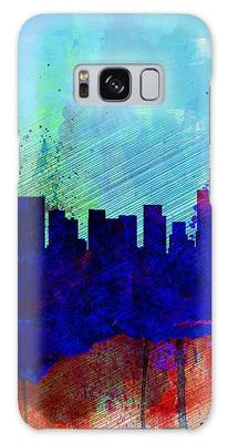 Portland Skyline Galaxy Cases