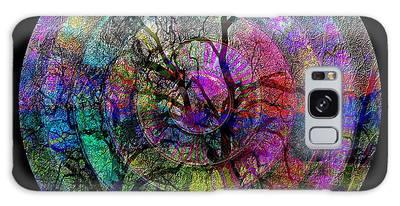 Galaxy Case featuring the digital art #012620142 by Visual Artist Frank Bonilla