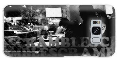 Street Cafe Photographs Galaxy Cases