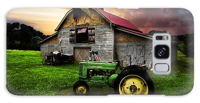 Red Wagon Galaxy Cases