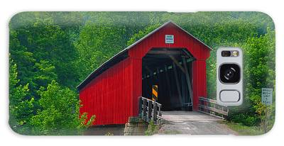 Hune Covered Bridge Galaxy Case