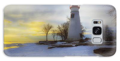 Marblehead Lighthouse Lake Erie Galaxy Case