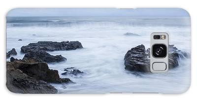 Moonstone Beach Surf 1 Galaxy Case