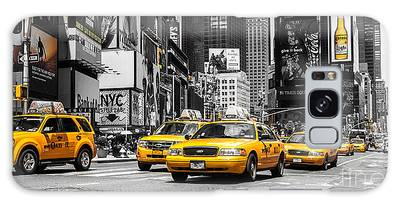 Nyc Yellow Cabs - Ck Galaxy Case