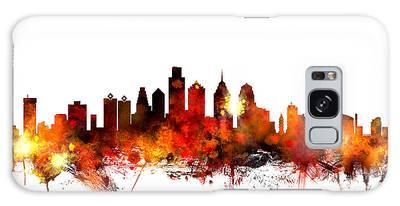 Philadelphia Pennsylvania Skyline Galaxy Case