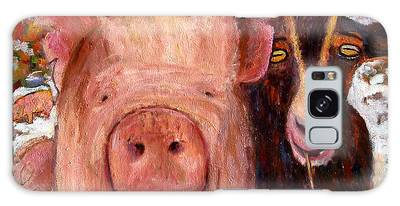 Pig And Goat Galaxy Case