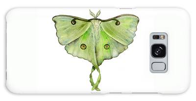 100 Luna Moth Galaxy Case
