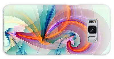 Horizontal Digital Art Galaxy Cases